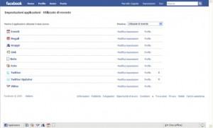 Applicazioni di Facebook