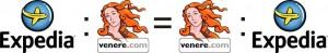 Expedia sta a Venere come Venere sta a Expedia