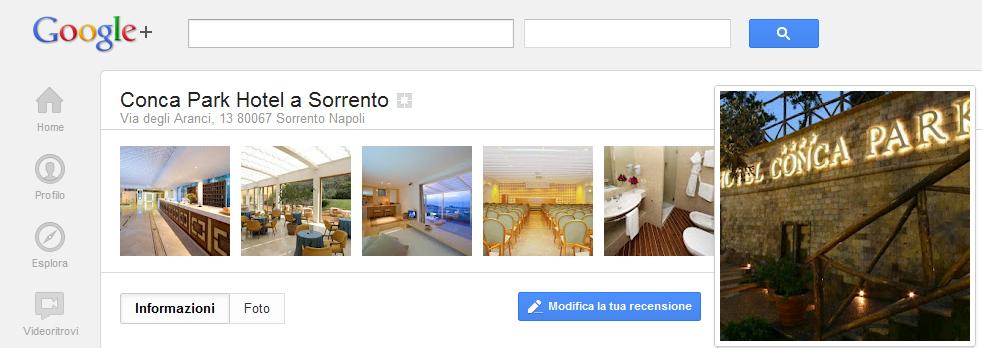 Pagine locali Google Sorrento