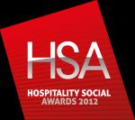 Hospitality Social Awards 2012