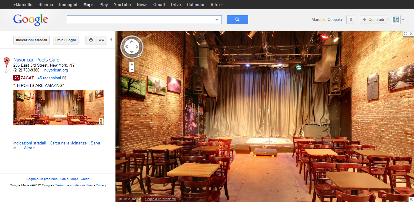 Google Business Photos è integrato con Google Maps
