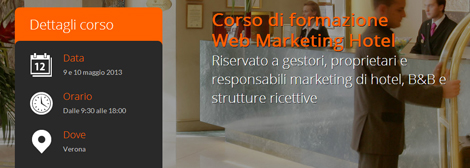 Corso Web Marketing Hotel - Verona