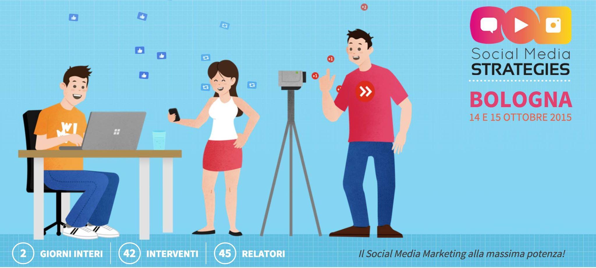 Social Media Strategies 2015 - Bologna