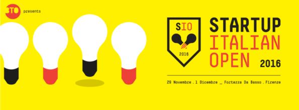 Startup Italian Open 2016