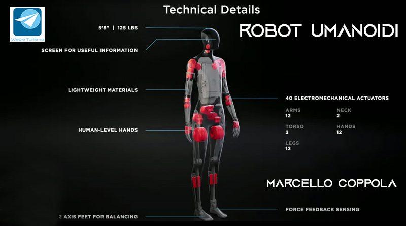 Robot umanoidi e Turismo